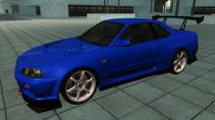 Nissan Skyline R-34 GT-R M-spec Nur for GTA San Andreas