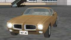 Pontiac Firebird Trans Am 1970 for GTA San Andreas