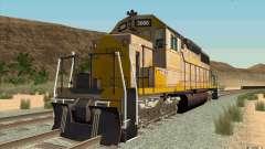 Clinchfield SD40 (Yellow & Grey) for GTA San Andreas