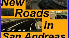 New Roads in San Andreas