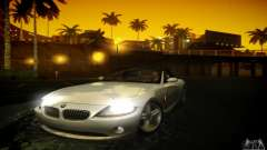 BMW Z4 silver for GTA San Andreas
