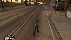 Super kick for GTA San Andreas