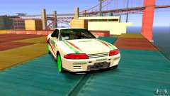 Nissan Skyline GT-R32 BadAss for GTA San Andreas