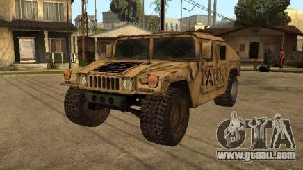 War Hummer H1 for GTA San Andreas