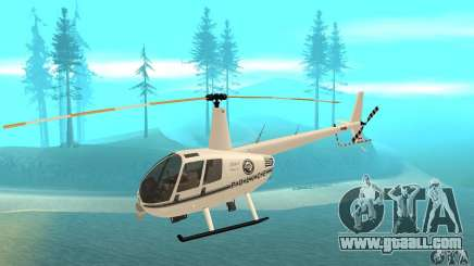Robinson R44 Raven II NC 1.0 White for GTA San Andreas