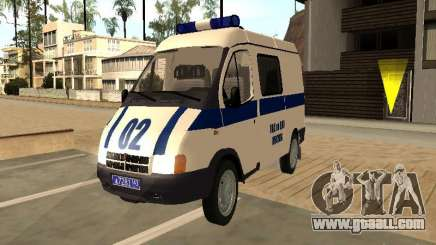GAZ 2217 Sobol POLICE for GTA San Andreas
