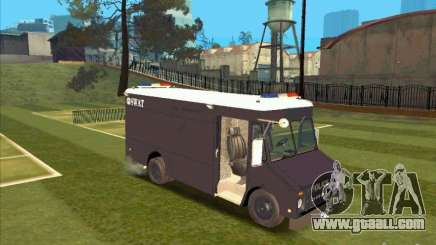 Swat Van from L.A. Police for GTA San Andreas