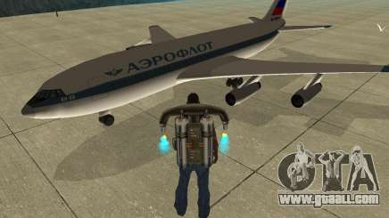 Ilyushin Il-86 for GTA San Andreas