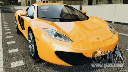 McLaren MP4-12C v1.0 [EPM] for GTA 4