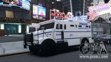 Enforcer Emergency Service NYPD for GTA 4