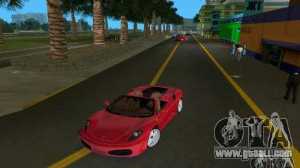 Ferrari F430 Spider 2005 for GTA Vice City