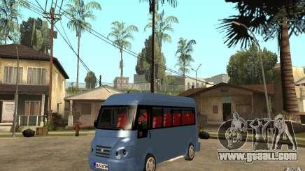 Karsan J10 for GTA San Andreas