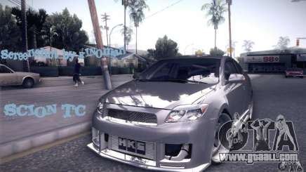 Scion Tc Street Tuning for GTA San Andreas