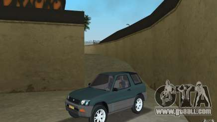 Toyota RAV4 for GTA Vice City