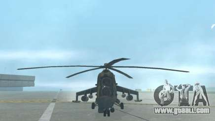 Mi-24p for GTA San Andreas