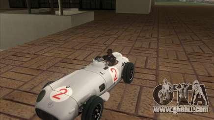 Daimler-Benz AG Juan Manuel Fangio for GTA San Andreas