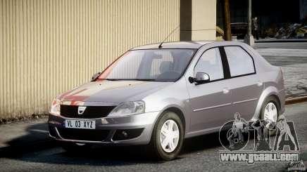 Dacia Logan v1.0 for GTA 4