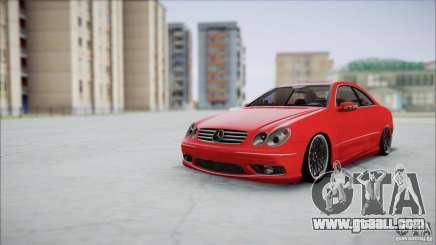 Mercedes CLK 55 AMG for GTA San Andreas