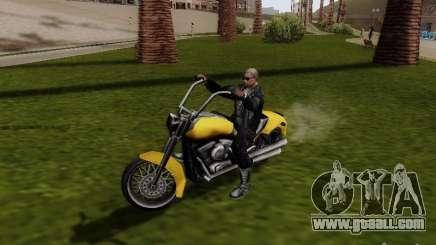 Vice City Freeway for GTA San Andreas
