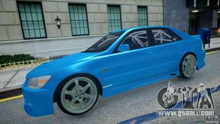 Toyota Altezza for GTA 4