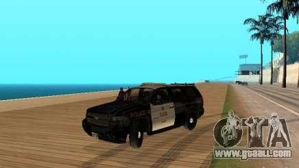 Chevrolet Tahoe Ontario Highway Police for GTA San Andreas
