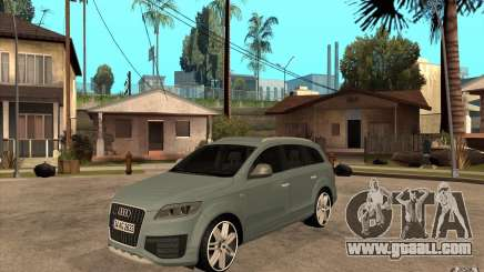 Audi Q7 V12 TDI 2011 for GTA San Andreas