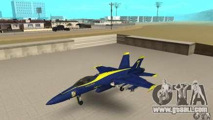 Blue Angels Mod (HQ) for GTA San Andreas