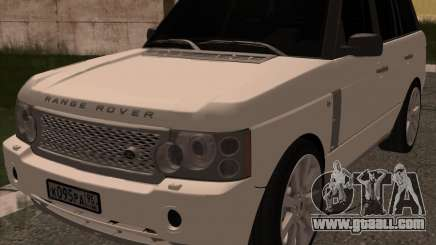 Land Rover Range Rover Supercharged for GTA San Andreas