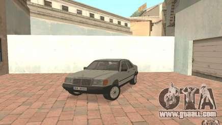 Mercedes-Benz E200 W124 for GTA San Andreas
