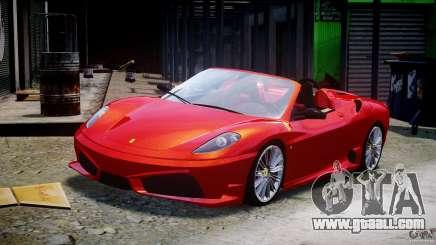 Ferrari F430 Scuderia Spider for GTA 4