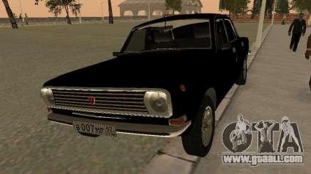 GAZ 24-10 Volga black for GTA San Andreas