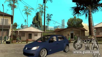 Volkswagen Gol Trend 1.6 for GTA San Andreas