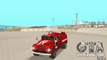 ZIL-130 fire for GTA San Andreas