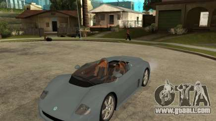 Volkswagen W12 for GTA San Andreas