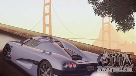 Koenigsegg CCX 2006 v2.0.0 for GTA San Andreas