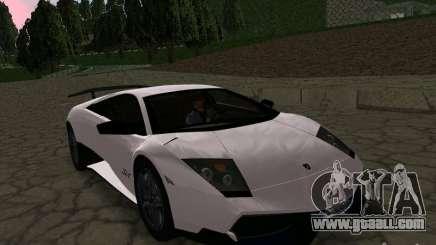 Lamborghini Murcielago LP670-4 sv for GTA San Andreas