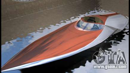 Bugatti Sang Bleu Speedboat for GTA Vice City