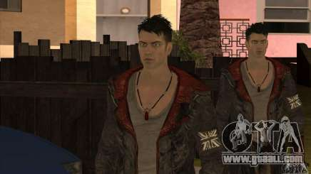 Dante from Devil May Cry for GTA San Andreas