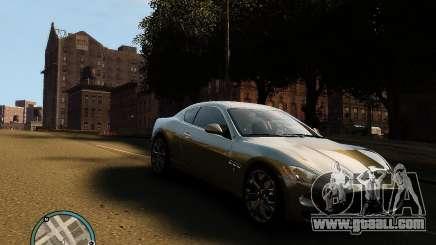 Maserati Grandturismo for GTA 4