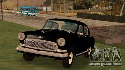 GAZ 21R black for GTA San Andreas