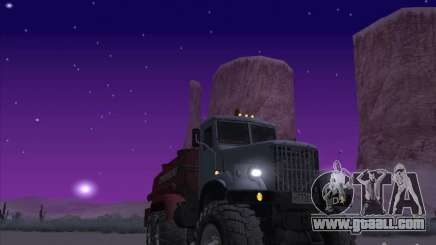 KrAZ-255 fuel truck for GTA San Andreas