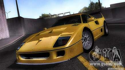 Ferrari F40 GTE LM for GTA San Andreas