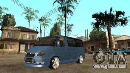 Gaz-2217-Barguzin Sable for GTA San Andreas