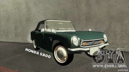 Honda S800 for GTA San Andreas