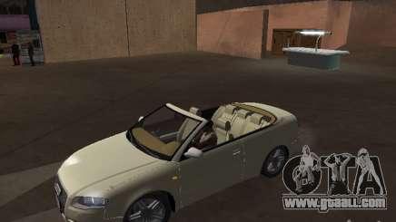 Audi A4 Convertible v2 for GTA San Andreas