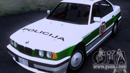 BMW E34 Policija for GTA San Andreas