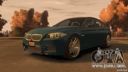 BMW 535i M-Sports for GTA 4
