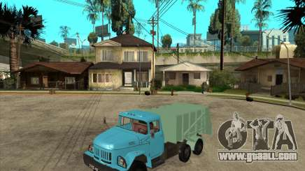 ZIL 131 garbage truck for GTA San Andreas