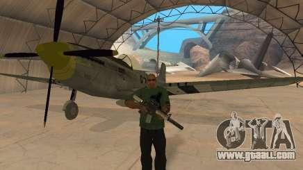 P-51 Mustang for GTA San Andreas