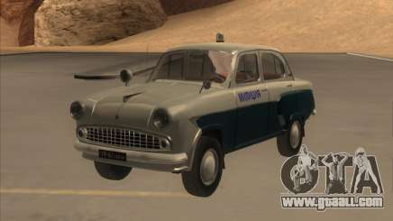 Moskvitch 403 with Police for GTA San Andreas